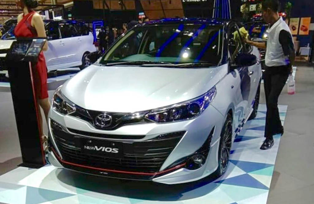 Toyota Vios TRD (Yaris Sedan) Showcased at GIIAS 1