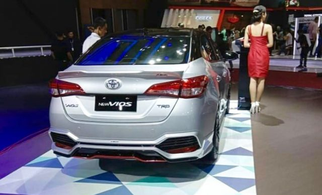 Toyota Vios TRD (Yaris Sedan) Showcased at GIIAS
