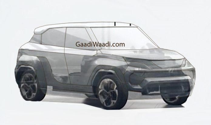 Upcoming Tata Micro-SUV (Smaller than Nexon) Accidentally Teased? (Tata Hornbill Teased)