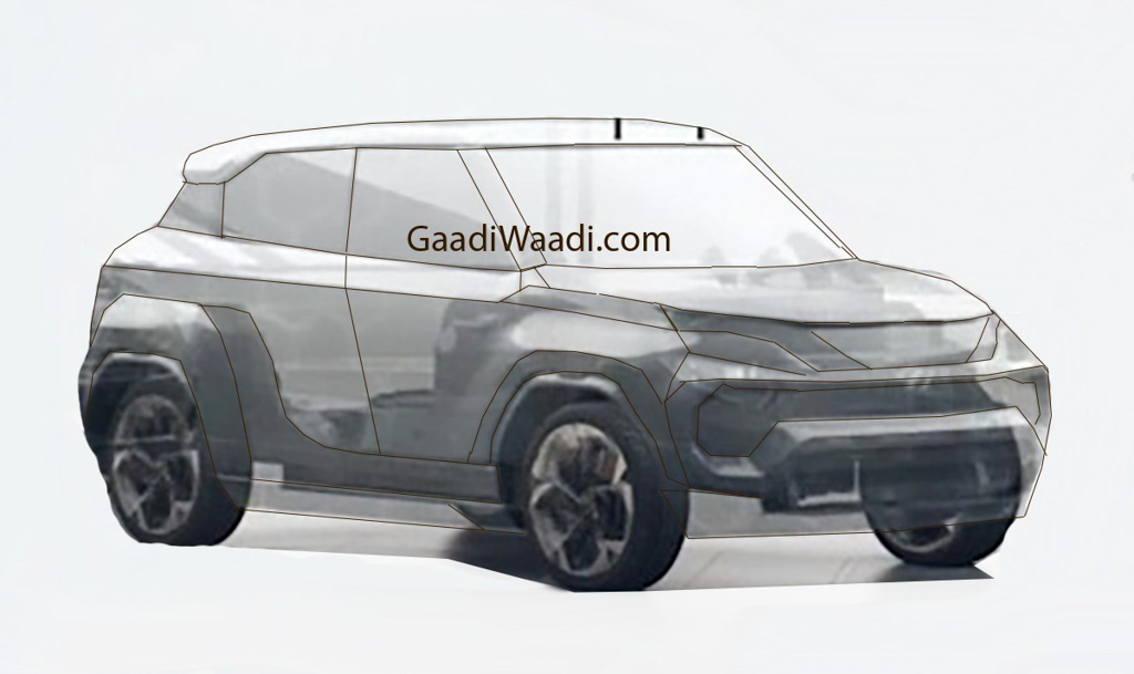 Upcoming Tata Micro-SUV (Smaller than Nexon) Accidentally Teased? (Tata Hornbill Teased)