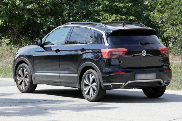 Volkswagen T-Cross SUV Spied 2