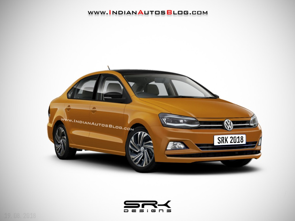 Volkswagen Vento Facelift Rendered In Sporty Guise Launch Likely In 2019