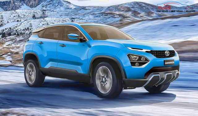 harrier nexon blue-1 (Tata Harrier Production Version Rendering)