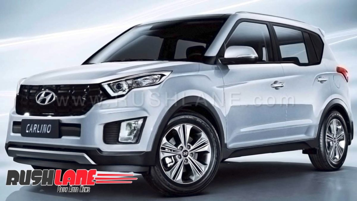 Hyundai Carlino Compact Suv Spied In India For The First Time