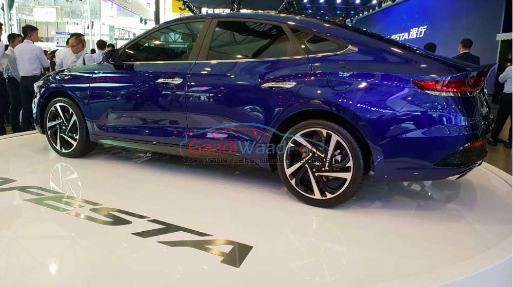 Hot New Hyundai Lafesta Showcased At Chengdu Motor Show