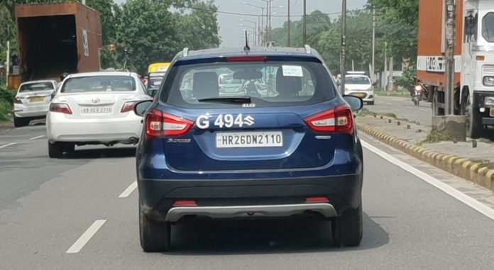 maruti s cross petrol images rear