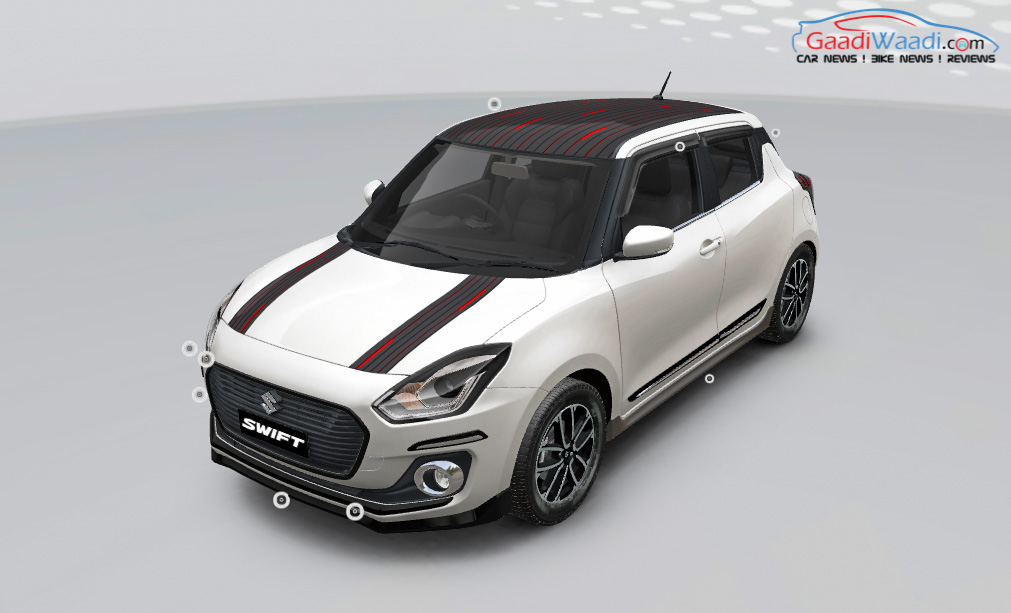 maruti suzuki swift icreate customization-1