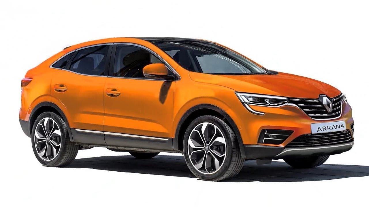 Renault Arkana Coupe SUV Officially Revealed