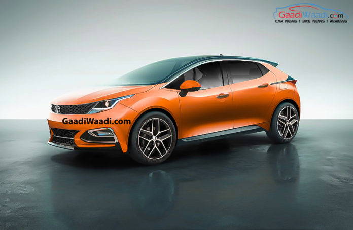 tata 45x orange colour rendering