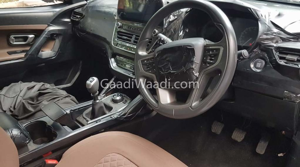 tata harrier interior dashboard images