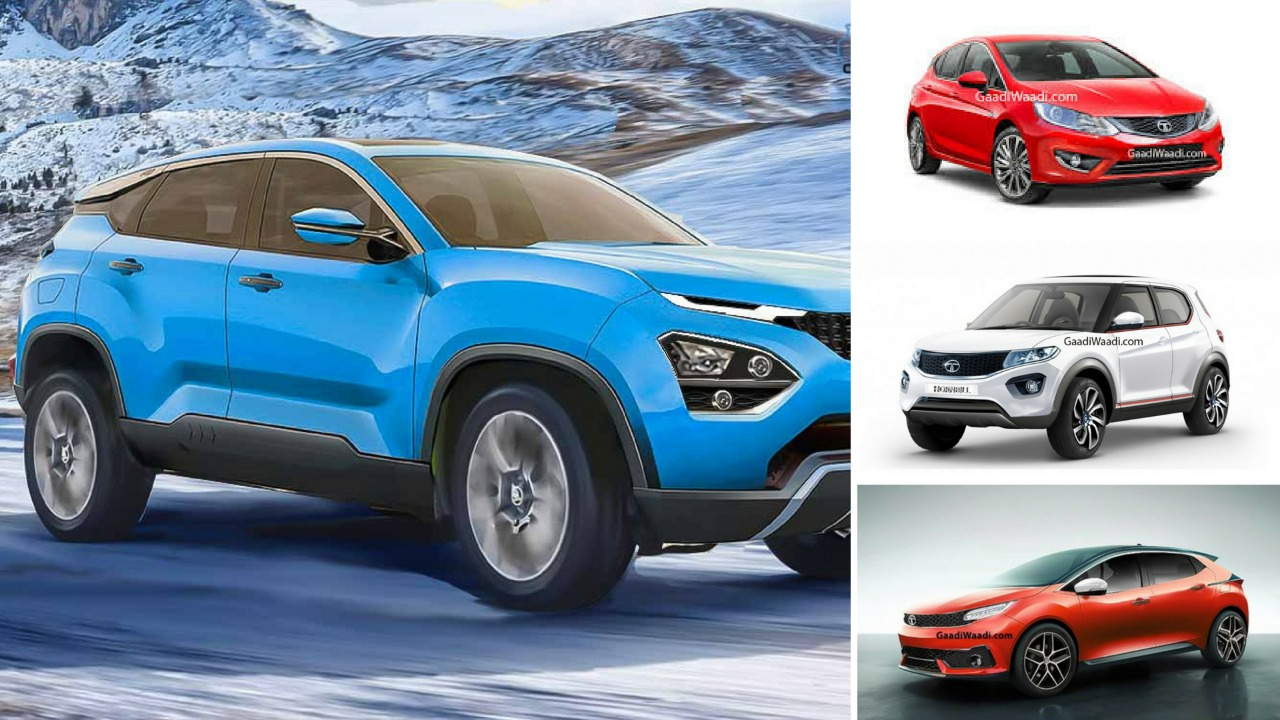 4 Upcoming Tata Cars in Our Exclusive Renderings, From Harrier to Hornbill
