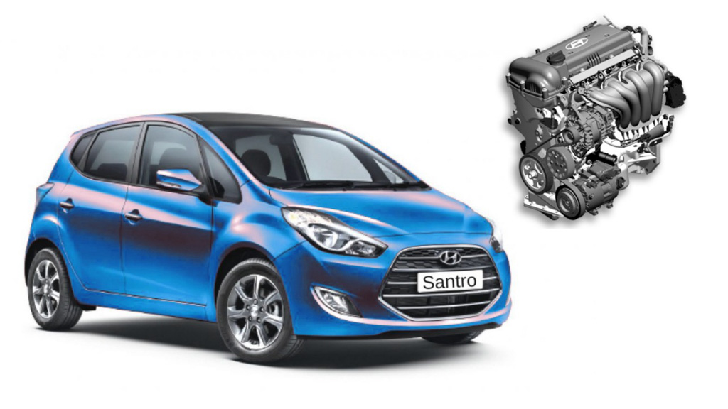 2018 New-Gen Hyundai Santro Likely To Get 1.1L Petrol Engine