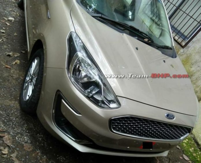 2018 ford aspire facelift front