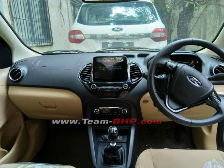 2018 ford aspire facelift interior