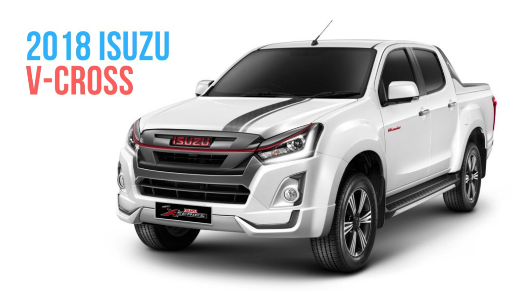 2019 Isuzu D-Max V-Cross To Likely Get New Engine And Premium Features 1