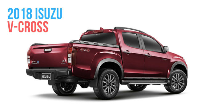 2019 Isuzu D Max V Cross To Likely Get New Engine And Premium Features