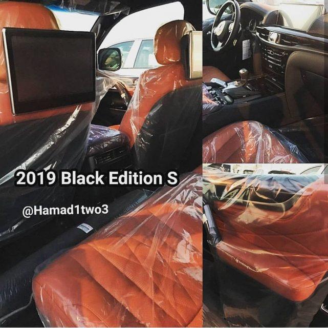 2019 Toyota Land Cruiser And 2019 Lexus Lx 570 Black Edition