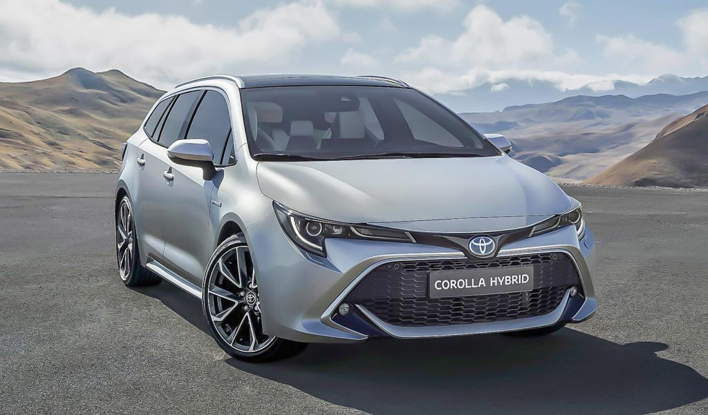 Toyota unveil all-new, British-built Corolla estate