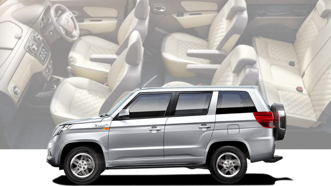 7 seater tuv300 plus