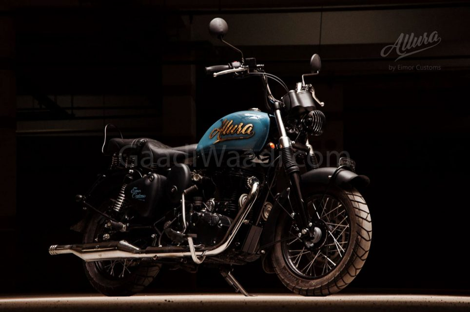 Allura royal enfield emior customs-6