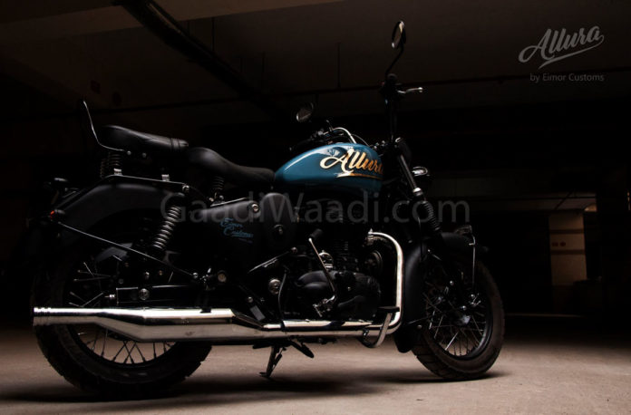 Allura royal enfield emior customs-8