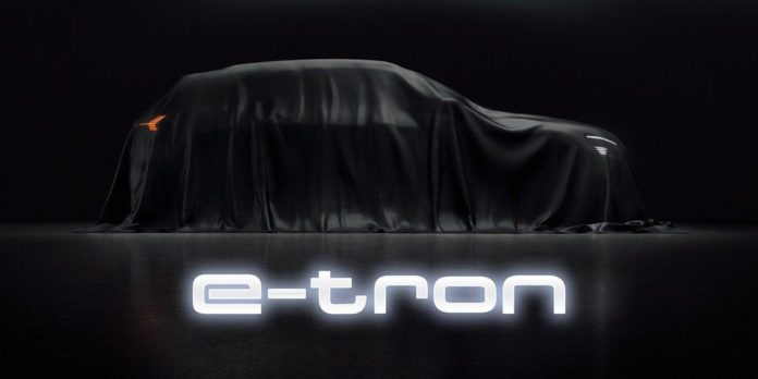 Audi E-Tron Electric SUV Teased