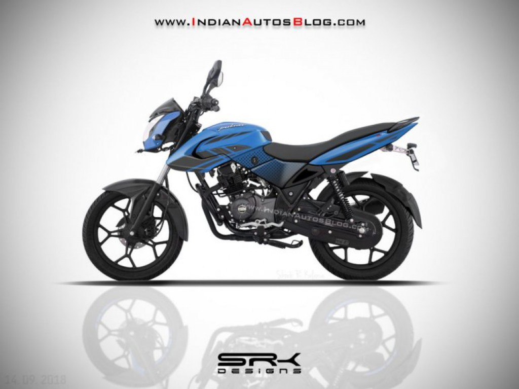 All New Bajaj Pulsar 125 Ls Rendered Likely Launch In Mid 2019