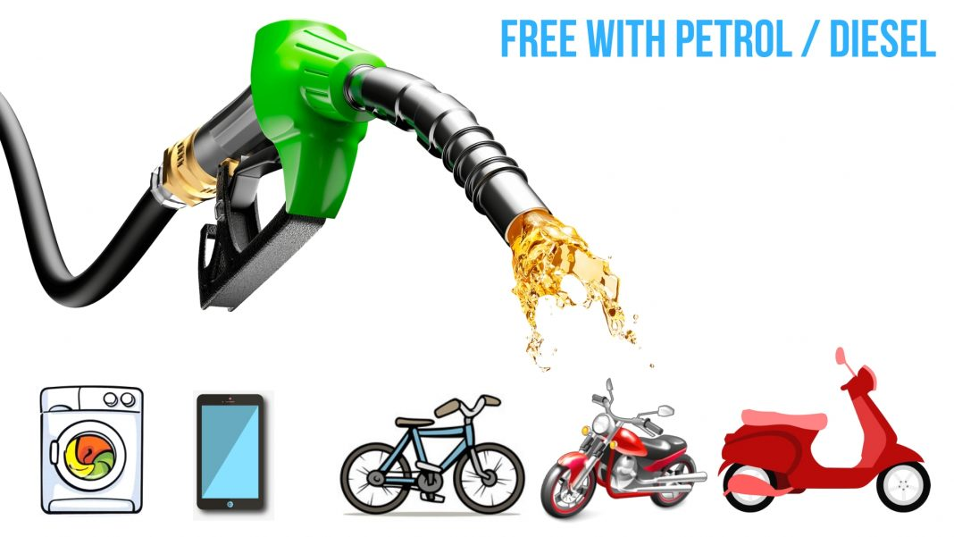 Buy Petrol:Diesel, Get a Bike Free – Petrol Pumps Now Luring Customers With Free Gifts