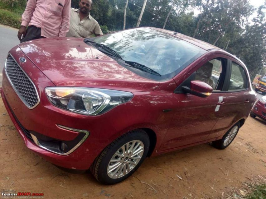 Ford Aspire Facelift Revealed, Exterior, Interior 1