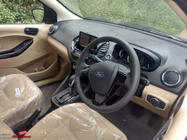 Ford Aspire Facelift Revealed, Exterior, Interior 4
