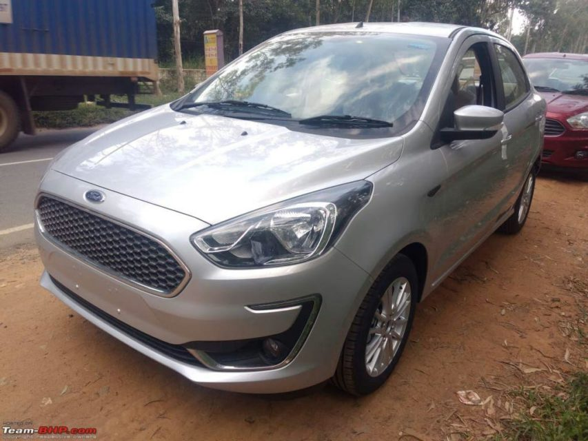Ford Aspire Facelift Revealed, Exterior, Interior