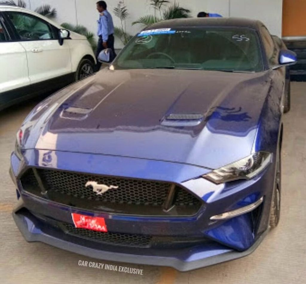 2019 Ford Mustang Facelift