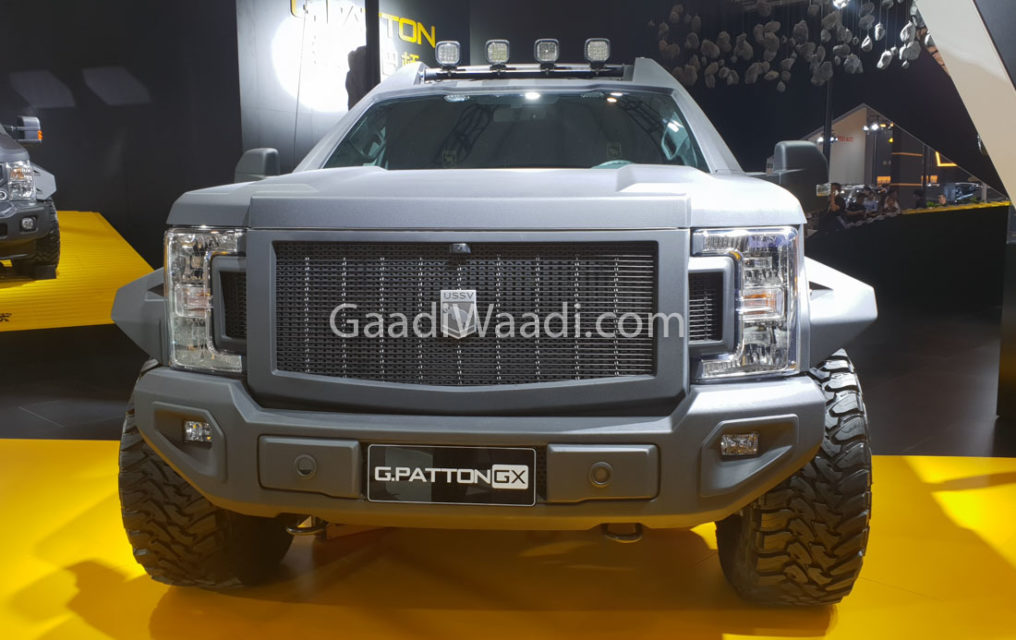 G.Patton GX, The BIG Daddy of all SUVs-1
