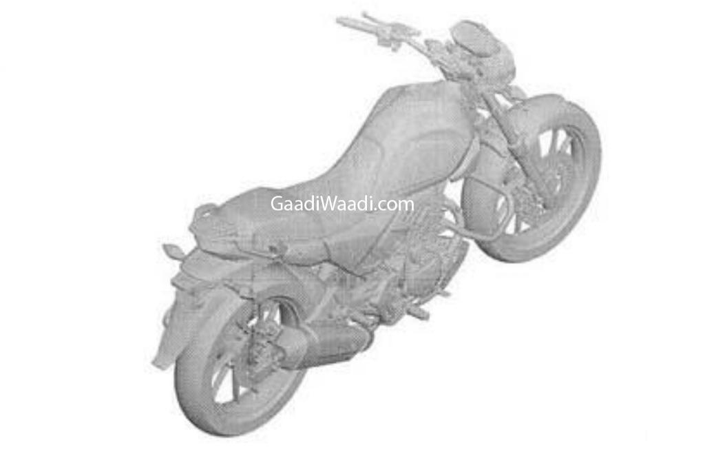 Hero 200 cc bike patented_
