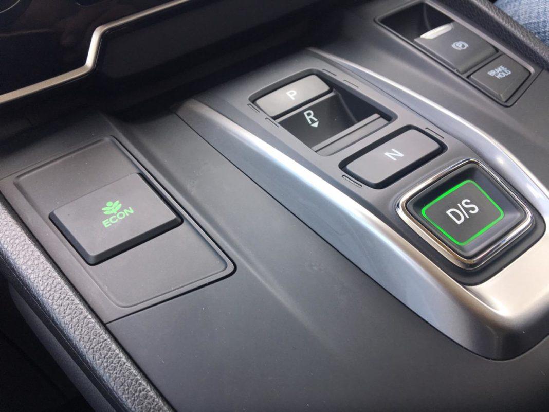 Honda CR-V Gets Push Button Gear Shift