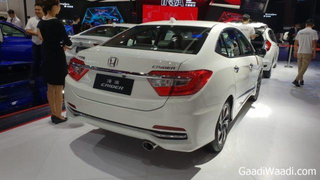 Honda Crider is a Longer Version of the City - 2018 Chendu Motor Show