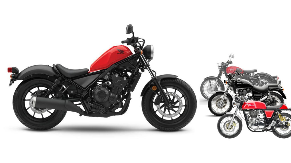 upcoming Honda Rebel 300