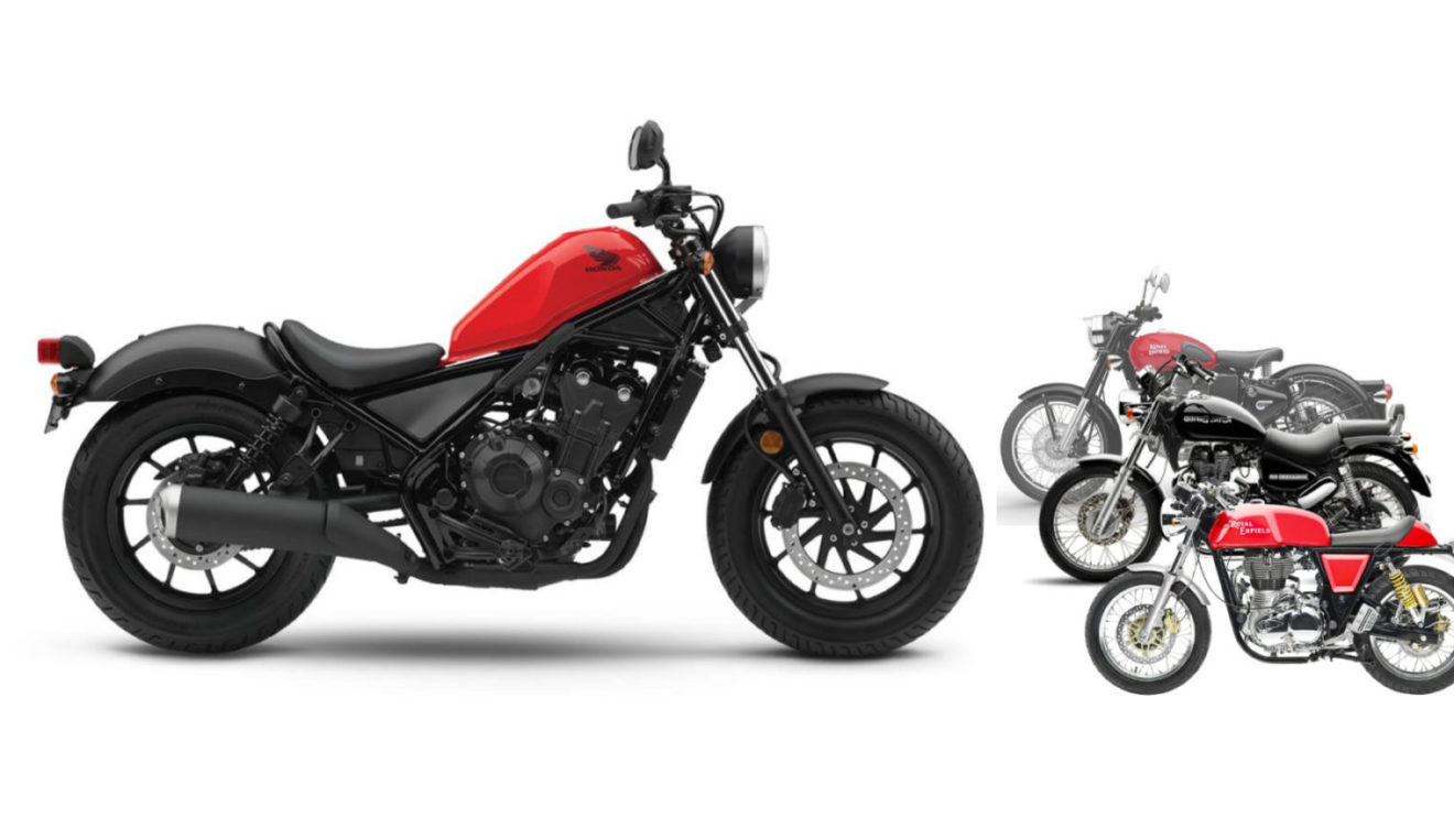 Upcoming Honda Rebel 300 Could Give Royal Enfield Cruisers Tough Time