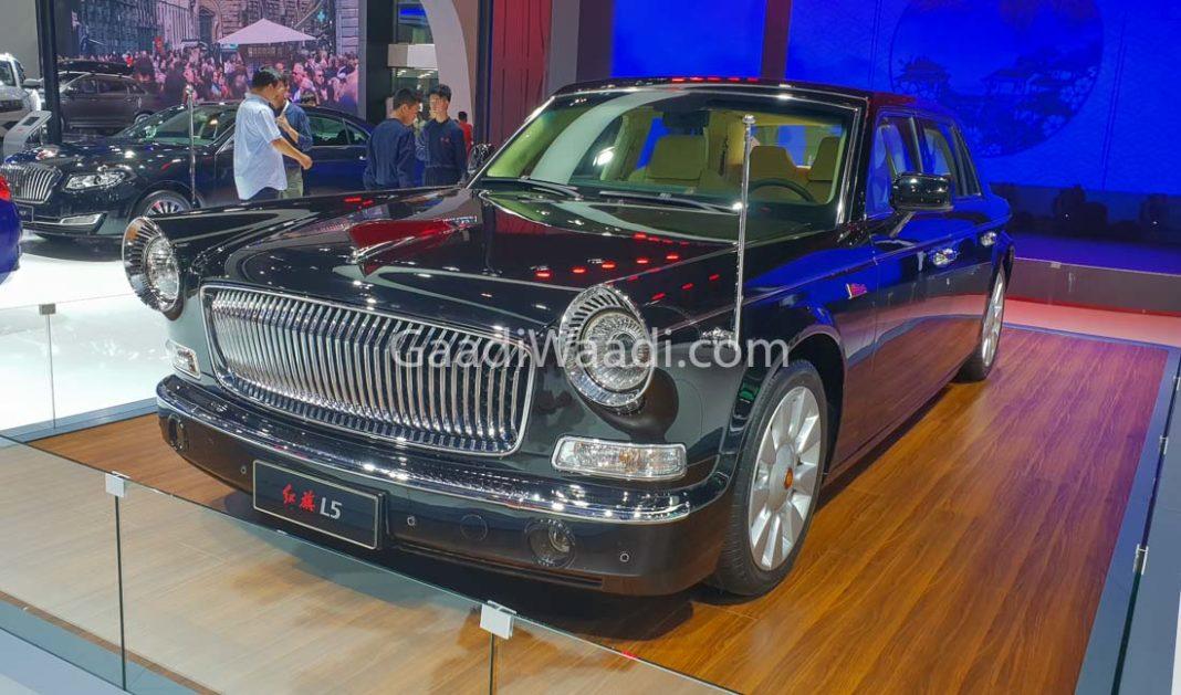 Hongqi L5 (Red Flag L5) chendu motor show 2018-1