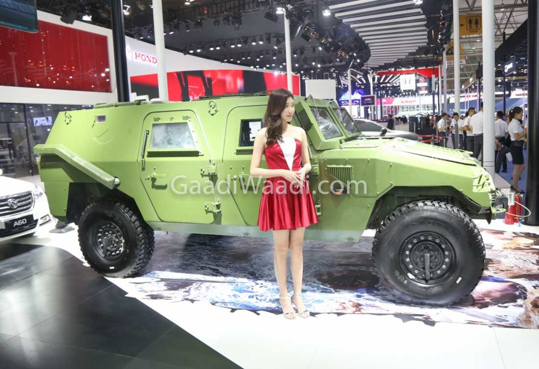 Hummer-like Dongfeng 4x4 Combat Vehicle Showcased at 2018 CMDS-8