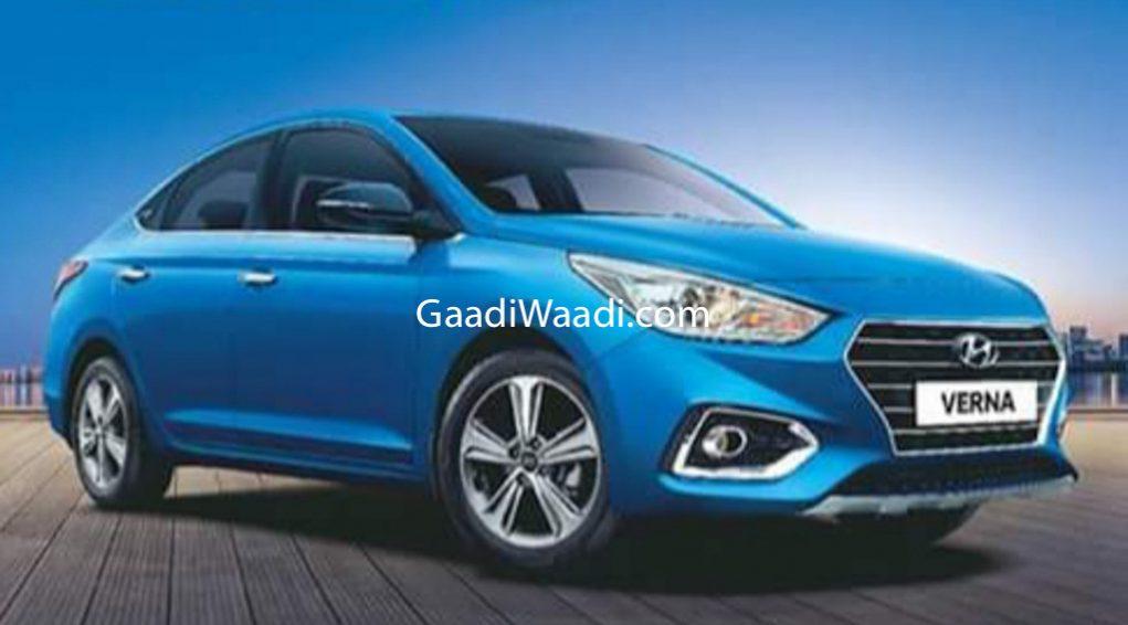 Hyundai Verna Anniversary Edition 1