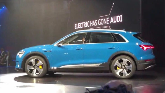 India-Bound 2019 Audi e-tron Electric SUV Unveiled With 400 km Range 1