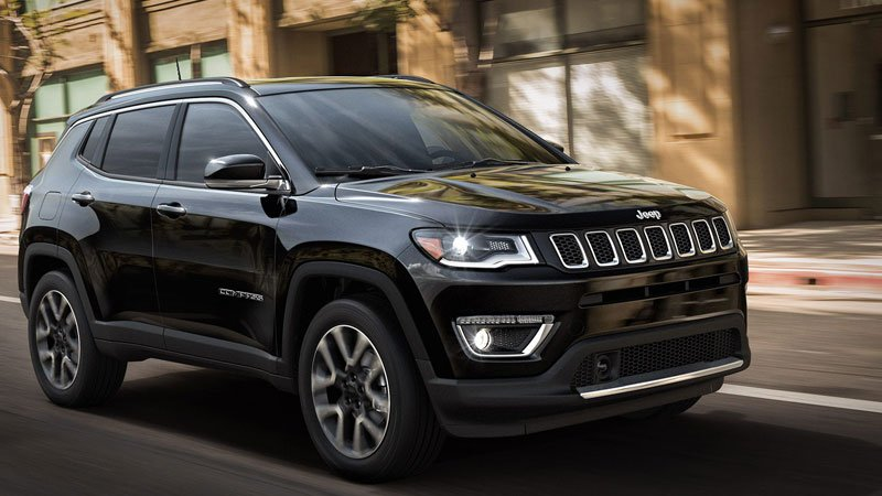 Jeep Compass Black Pack Variant