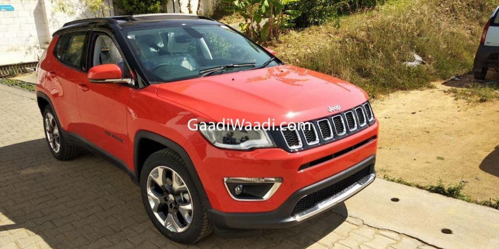 Jeep Compass Limited Plus Spied 1