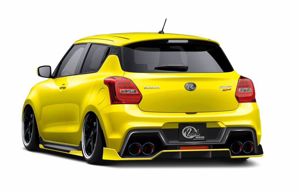 Here Is A Really Sporty Suzuki Swift Sport From Japan, Top