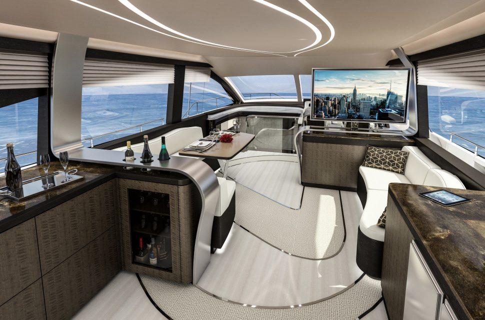 LY 650 interior