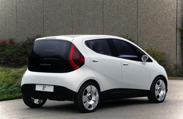 Mahindra Electric Hatchback Pininfarina Designed_