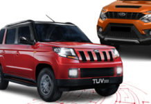 Mahindra TUV300 Facelift To Launch Next Year