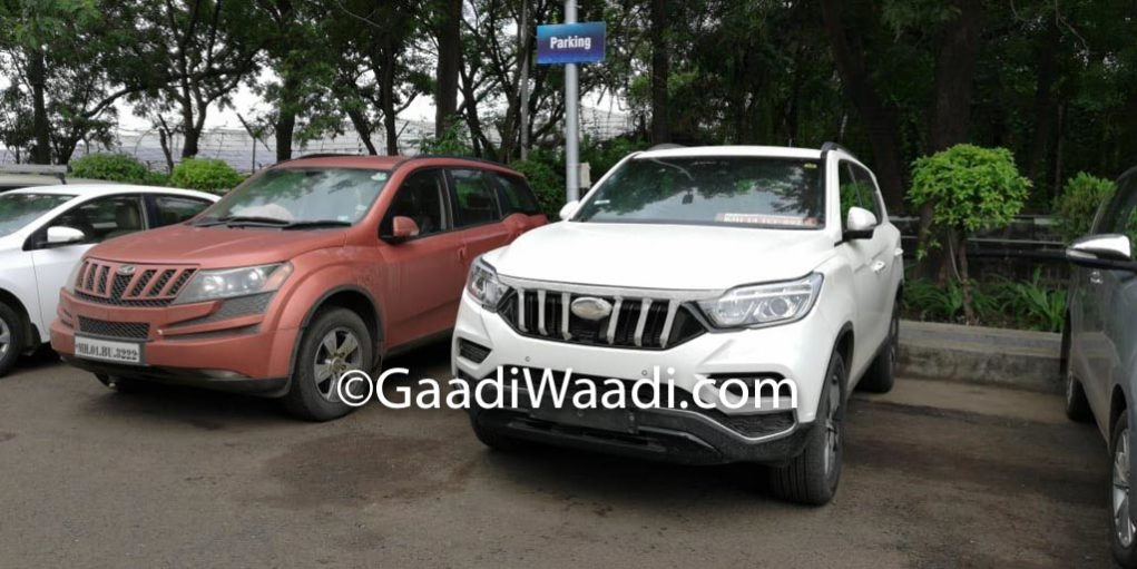 Mahindra XUV700 (Rexton) Spied Fortuner Rival