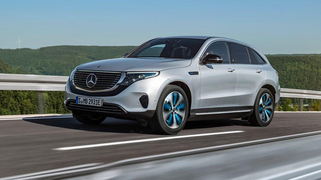 Mercedes-Benz EQC front